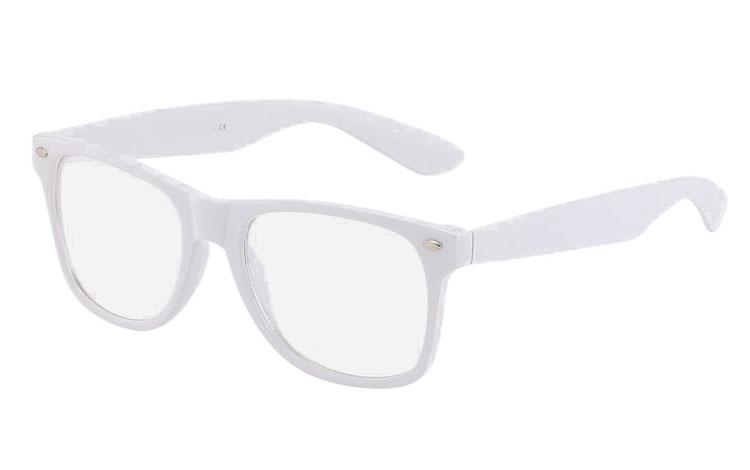 387d9d6a38070c Witte bril met helder glas