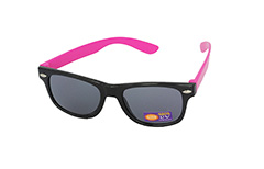 395439aed78f5d Goedkope zwart met roze kinder zonnebril - Design nr. 1096
