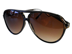 Donkerbruine aviator - Design nr. 505