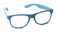 Lichtblauwe bril in wayfarer look - Design nr. 892